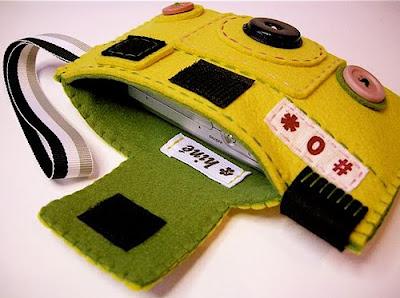 Оригинальный чехол для цифровой фотокамеры, вариант 3