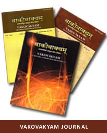 Vakovakyam Sanskrit Research Journal ISSN:0975-4555