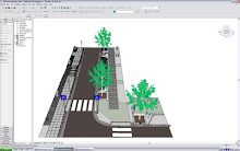 Revit Architecture can also be used for urban design!