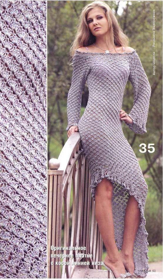 Описание и схема платья