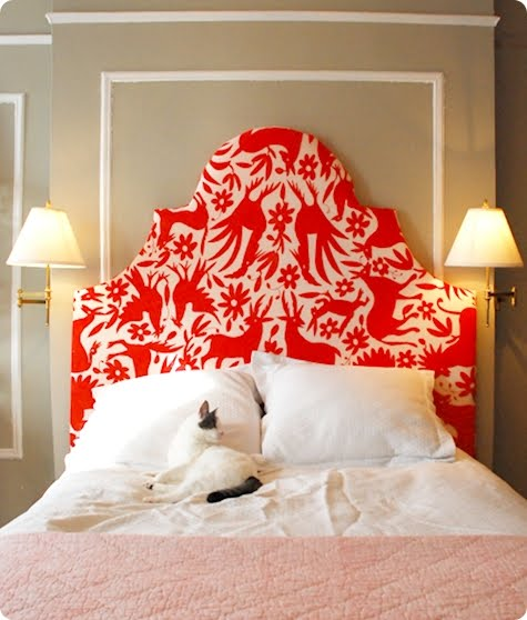 Brinylon design blog fabulous diy fabric headboard How to make your own headboard
