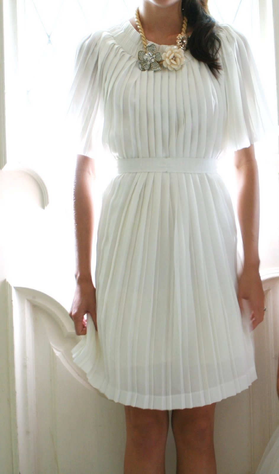 DIY pleated dress - Life is Beautiful