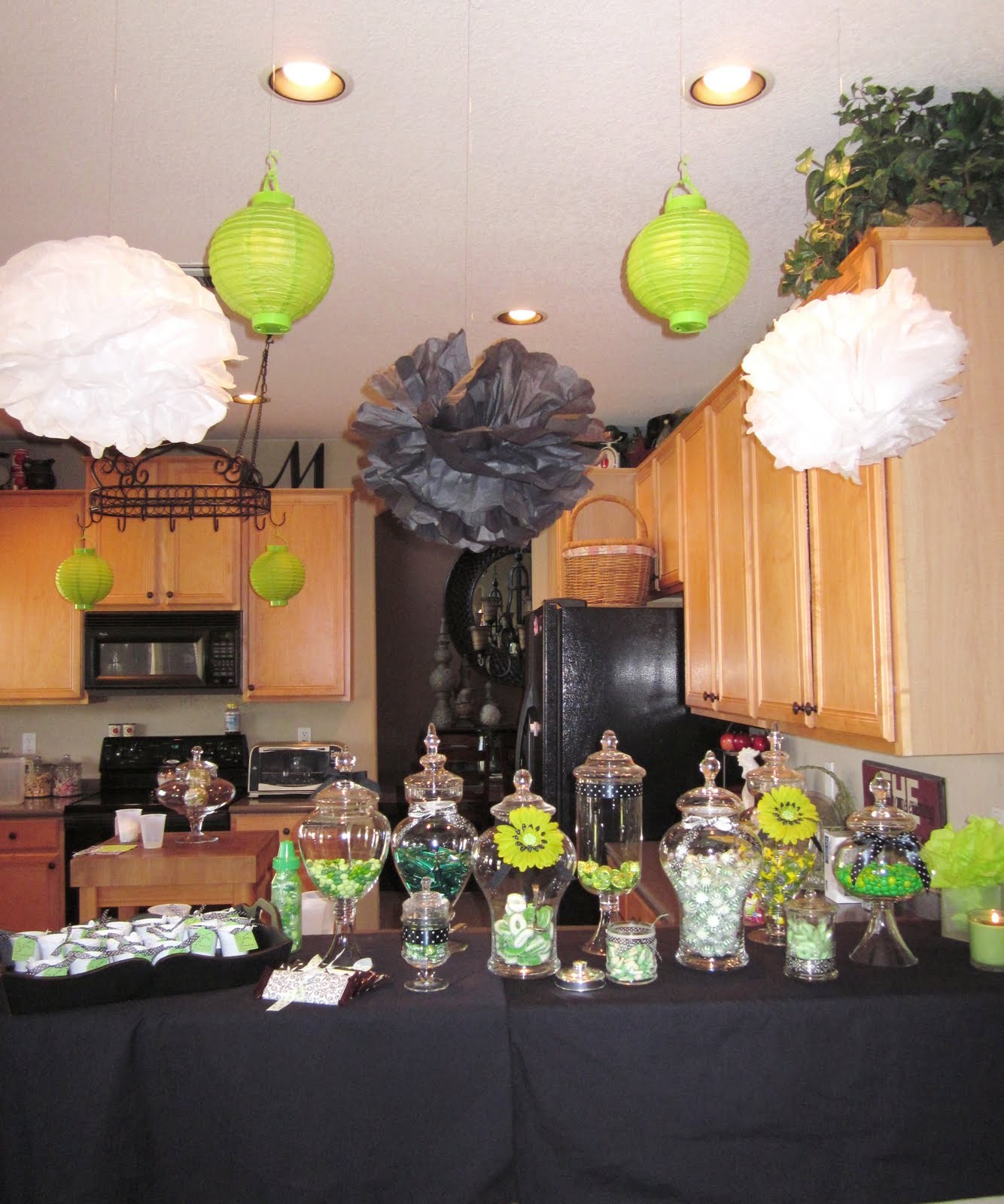 adorable antics lime time baby shower