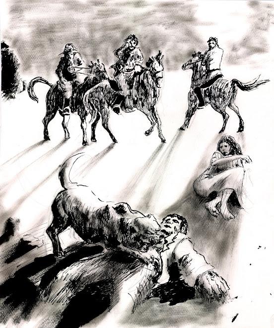 """Ilustracion interiror """"El sabueso de los Baskerville"""