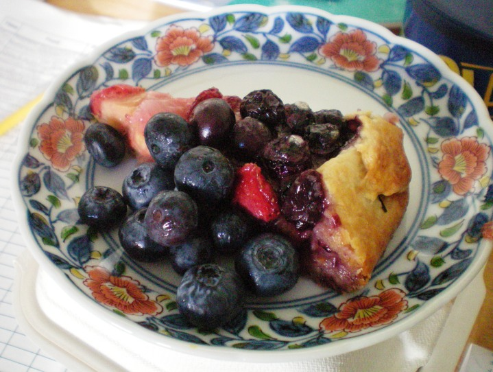 American Tart: Banana, Strawberry, Blueberry Galette | Notebook Worthy