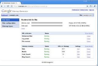 SITEMAPS como enviar e indexar posts