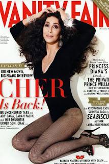 La revista Vanity Fair honra a la veterana diva llevándola a su portada en el número de diciembre.