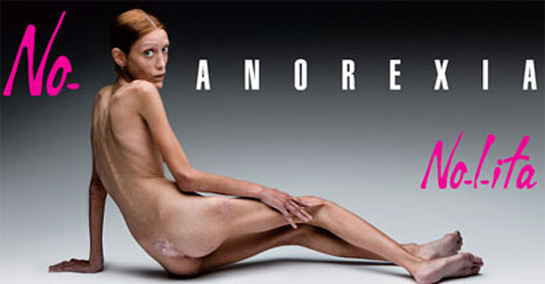 Isabelle Caro anorexia hasta morir