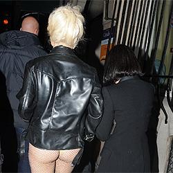Lady Gaga su blanco culo