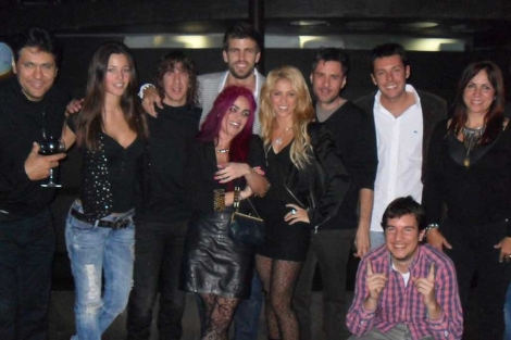 Piqué y Shakira foto juntos waka waka