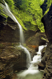 Falls, Watkins Glen State Park, New York