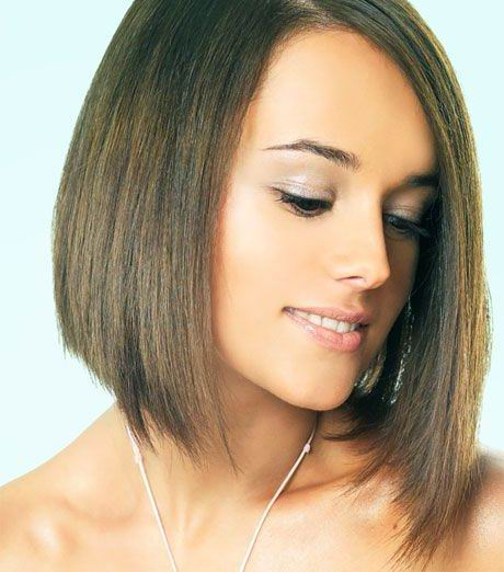 Long Layered Bob. Intercoiffure Mondial Hairstyle. layered bob