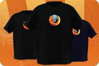 Camisetas Firefox
