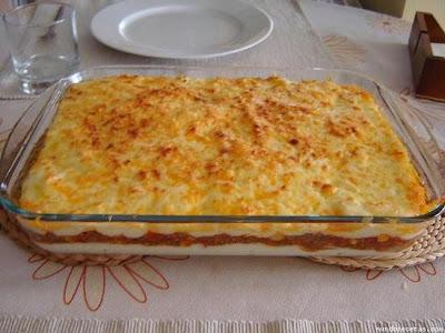 Receta Pastel de carne y espinaca