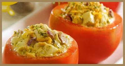 Recetas Vegetarianas Tomates Rellenos