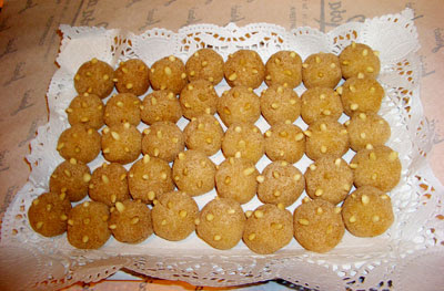receta postre mazapan