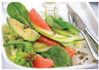 Receta Ensalada de Palta y Frutas