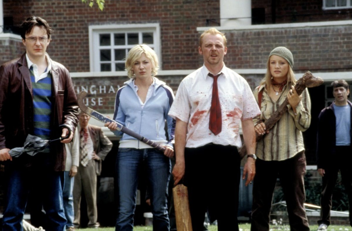 Simon Pegg Land Of The Dead SHAUN OF THE DEAD a lot