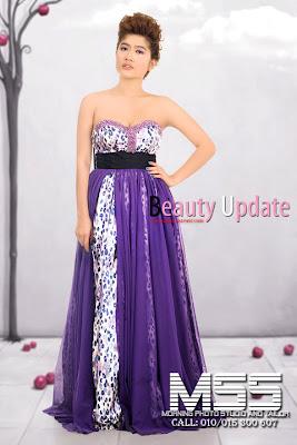 meas somali khmer model with new fashion dress