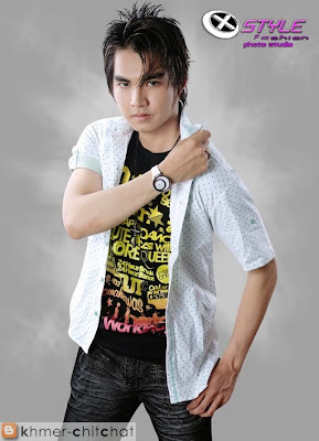 kevin khmer male model and karaok star