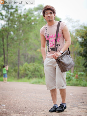 ieng vichhiy khmer male model