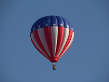 Red, White, and Blue Balloon