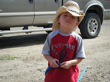 Jayden and his cool hat