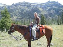 Eric riding