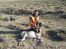 Jesse with his antelope