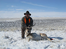 Dennis with his buck antelope