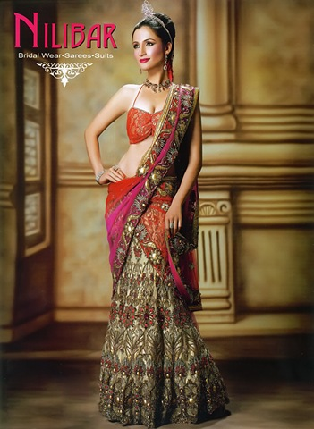 A cute collection of Bridal dress collection Indian bridal dresses are