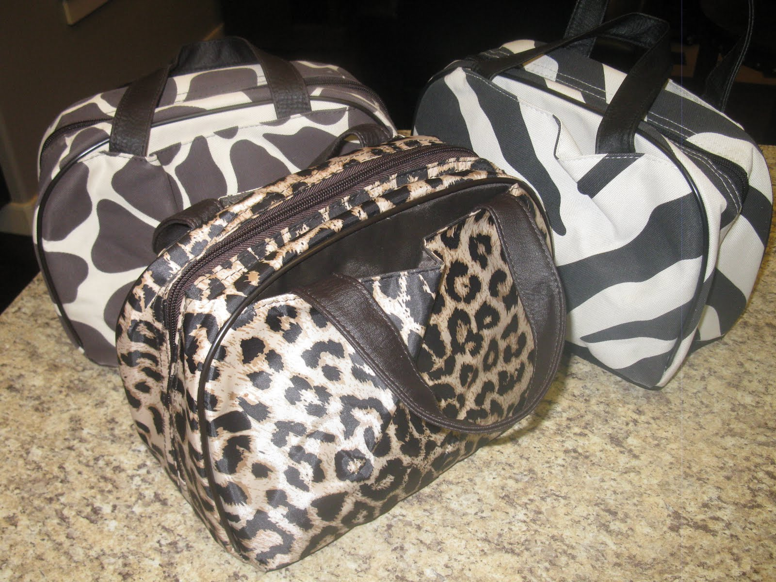 Emma S Is The Leopard Print Bag And Sophia Giraffe Olivia Got A Lunch When We Were Down In States But Bought It I
