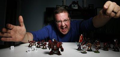 игрок в Warhammer 40K