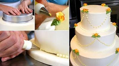 как самостоятельно приготовить свадебный торт