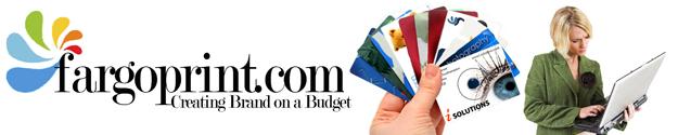 Fargo Printing:Business cards, Post Cards, Design, Logos,