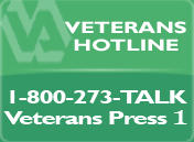 If you are a veteran in emotional crisis, call this toll-free number now