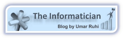 The Informatician: Blog by Umar Ruhi