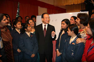 Wen Jiabao visiting India@peterpeng210.blogspot.com