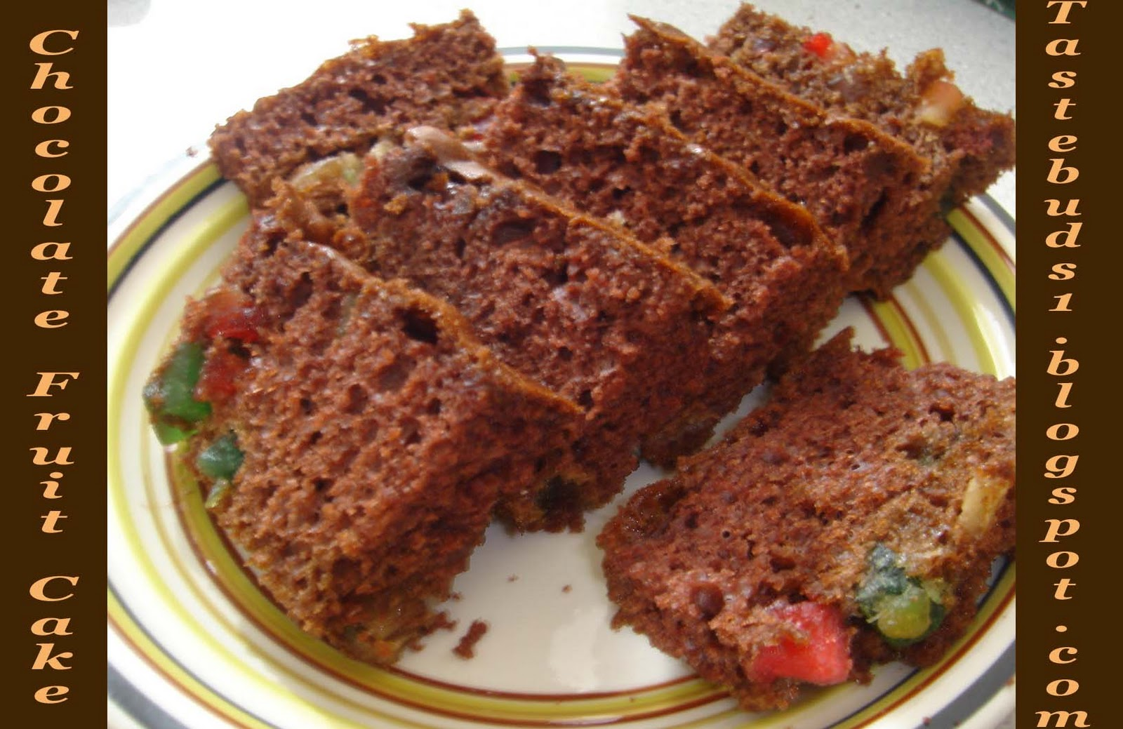 Christmas Special Cake Images : Taste Buds: Christmas Special - Chocolate Fruit Cake