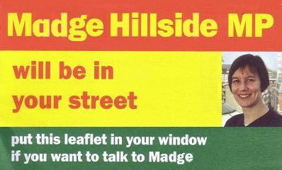 "Madge and Diane will be ""down your street"""