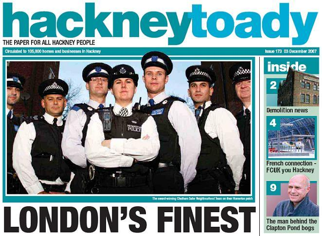 Hackney celebrates London's finest