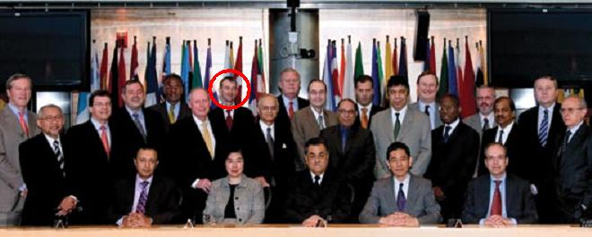 Executive Directors of The World Bank (Tom Scholar circled)