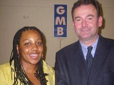 Miranda Grell with Jon Cruddas (again?)