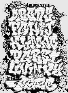 Graffiti Keren 3d Gambar Alphabet Graffiti