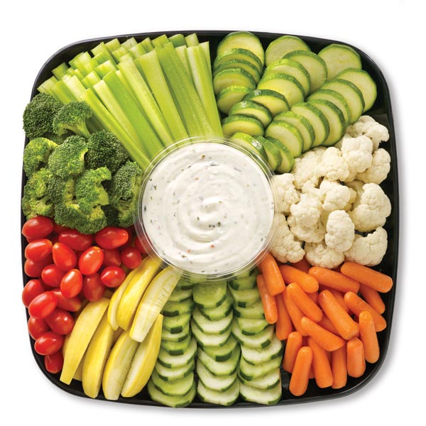 Parents Unite Vegetable Platter For A Party