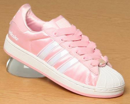 adidas superstars metallic pink