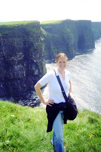 The Cliffs of Moher 'n me in Ireland