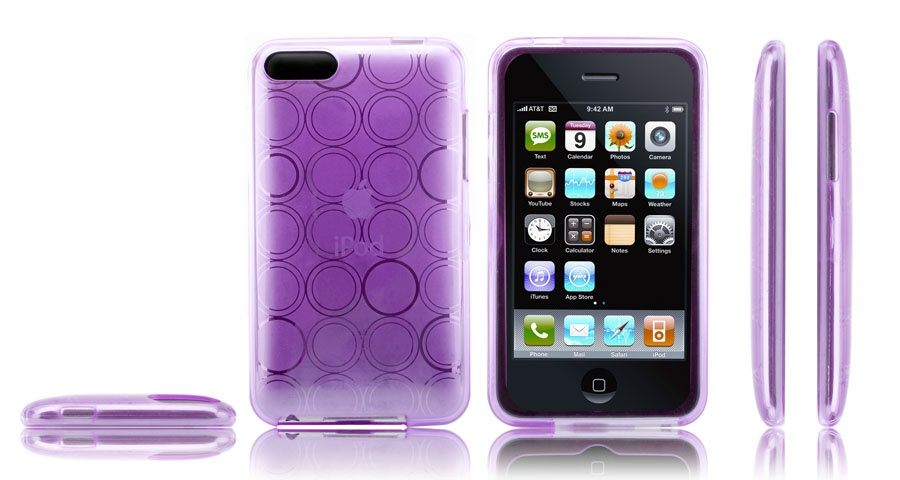 "iPod Touch Case Purple - Any purple case will do :""> But I won't be needing"
