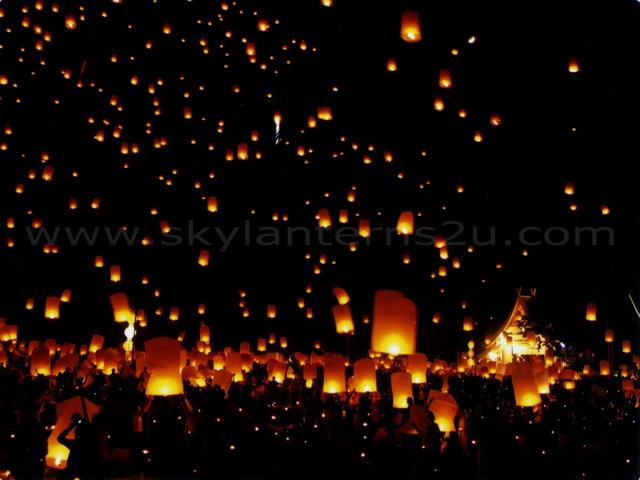 Whispered Whimsy Vintage: Flying Lanterns...