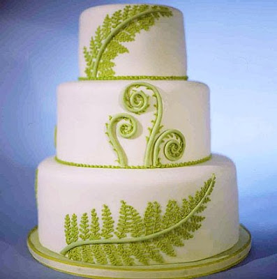 Wedding Cake Decorations Nz : Flax koru cake topper with wide woven flax cake bands www ...